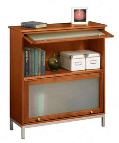 Image result for adding legs to short barrister bookcase