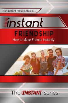 Brand new book just launched now today for $0.99 a limited time only!‪#‎friendship‬ ‪#‎howtomakefriends‬ ‪#‎friends‬ ‪#‎instantfriendship‬ http://www.amazon.com/dp/B01DVVTW44