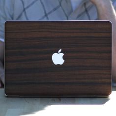 Parudao Wood MacBook Teksure Skin...it would just look SO GOOD in my apartment, no?