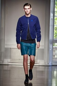 Richard Nicoll Spring Summer Menswear 2013 via www.nowfashion.com