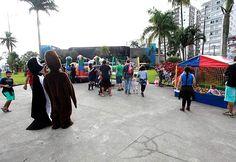 Neste domingo, teve festa celebrar o aniversário de 72 anos do Aquário Municipal que é uma das referências da Cidade de Santos.
