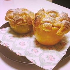 Apple pie in an apple! The cutest way to serve apple pie =)