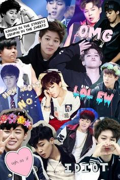 bts, jimin, and Collage image