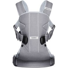 49d72dd2b56 BABYBJORN Baby Carrier One - Denim Gray - Walmart.com
