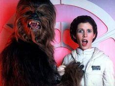 Chewbacca e la Principessa Leila, il dietro le quinte
