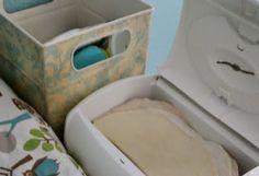homemade baby wipe solution