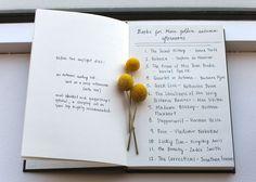 A Reading List for Autumn