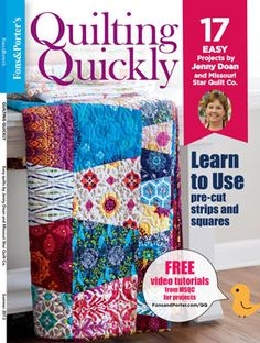 Book or quilting strips squares