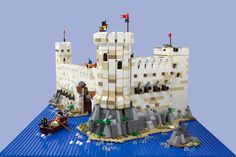 Gorgeous LEGO Pirates themed Imperial Fort