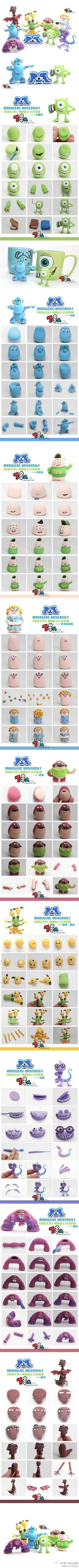 Monsters university - For all your cake decorating supplies, please visit craftcompany.co.uk