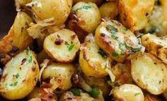 Ces délicieuses pommes de terre rôties à l'italienne sont un succès assuré! prêtes en 15 minutes !