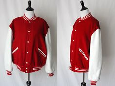 Vintage Butwin The Champion of Jacket |  Letterman Jacket | XL