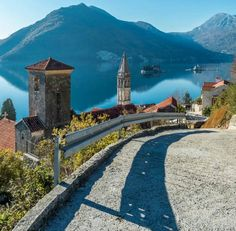 """""""This is Perast. Montenegro. Convinced to come yet? Stay at Guest House Przno Bay. We will organise everything for you. #guesthouseprznobay #guesthouse…"""""""