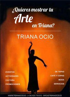 ¿Tu Arte es el flamenco? A muchas personas que van al barrio de Triana les gustará acudir a tu cita · Sevilla http://www.trianaocio.es/#!annciate/c1udx  TRIANA OCIO | AGENDA DE EVENTOS Y ACTIVIDADES DE TRIANA