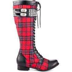 Rock On Tall Boot - Tartan Abbey Dawn $114.99
