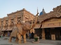 Kingdom of Dreams elephant, Gurgaon, India