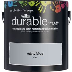 Duck Egg Blue Wall Paint, Blue Painted Walls, Blue Gray Paint, Blue Walls, Wilko Paint, Sugar Soap, Dulux Paint, Cleaning Walls, Wall Colors