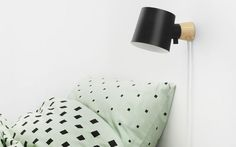 Normann releases new products for fall 2016 in M&O – Crioll Designshop. Rise wall lamp, bedroom