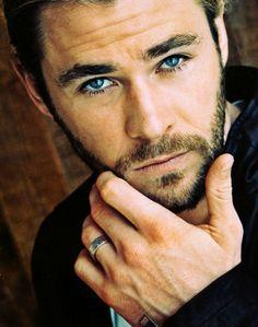 Chris Hemsworth...Oh those eyes...I wanna drown in them