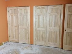 double closet doors - Google Search