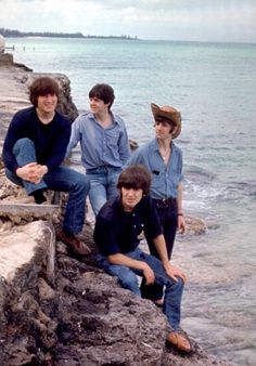 Beatles by the beach