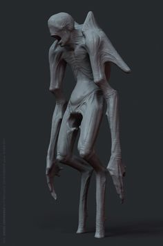 Personal project, 2013  Concept + Sculpting + Rendering. Some random zombie.