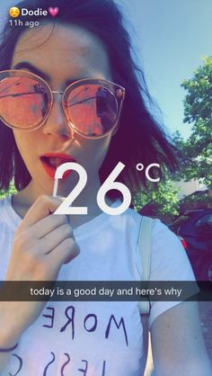 DEAR DODIE CLARK: today is going to be a good day and heres why: you're you and that's enough