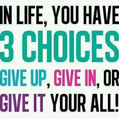 What's your choice? #motivation #quote http://ift.tt/1LAeTSD