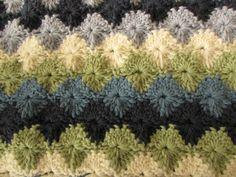 EASY crochet catherine wheel. starburst stitch blanket tutorial - part 1
