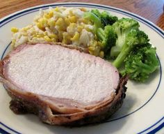 Cooking with Carlee: Jenny's Grilled Pork Loin With Bacon