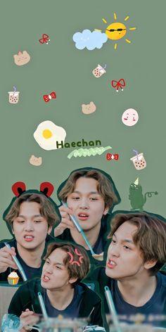 World Happiness, Nct Chenle, Phone Themes, Jeno Nct, Jisung Nct, Nct Taeyong, Jaehyun Nct, Aesthetic Colors, Foto Bts