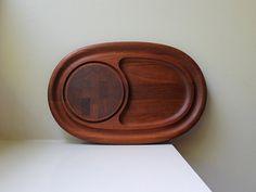 Vintage Modern Dansk Teak Cutting Board / by VintageModernAndMore