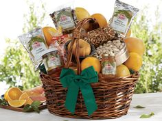 Lasting Impressions #Gift #Basket | Citrus  Gourmet Treats - Hale Groves #birthdays