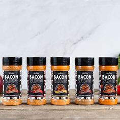 Deliciou's Bacon Seasoning makes anything taste like bacon. As a natural, vegan and healthy seasoning option you can flavor your meal with confidence. With our bacon salt you can turn an average meal into an unbelievable deliciousness.