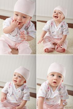 National Nurses Day | Baby Aspen | Baby Nurse Costume