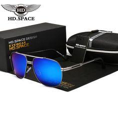 195b5bb36e SPACE 2017 new Sunglasses for Men Brand designer Polarized Sun glasses  UV400 Driving oculos de sol -in Sunglasses from Men s Clothing    Accessories on ...