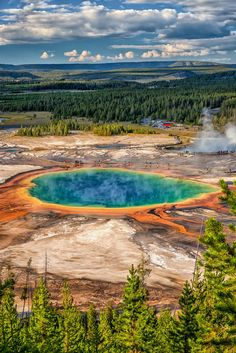 sitoutside:  The Colors of Yellowstone  by  Philip Kuntz