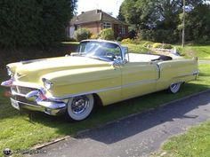 1956 Cadillac...Beep beep..Re-pin brought to you by agents of #Carinsurance at #Houseofinsurance in #Eugene/Springfield OR