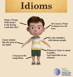 Toddler Idioms West London English school