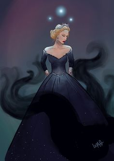 High Lady of the Night Court So I don't usually post what I draw cuz can't really draw. But I kind of liked how this one came out, so I am throwing it out into the black void of tumblr.