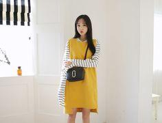 Square Top Long Dress