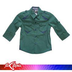 Una #Camisa, cool para niños que les gusta verse bien!. Es de manga larga y 100% de algodón 3er.Piso #Niños
