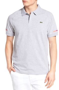 New Lacoste Super Light Polo ,WHITE fashion online. [$95]top10shopping top<<