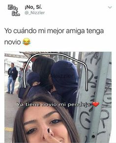 Jajajajaja capaz Cute Spanish Quotes, Spanish Memes, Girl Memes, Girl Humor, Mexican Memes, Best Friend Goals, Best Friends Forever, Real Friends, Fact Quotes