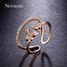 Find More Rings Information about NEWBARK Stunning Micro Zirconia Rings For…