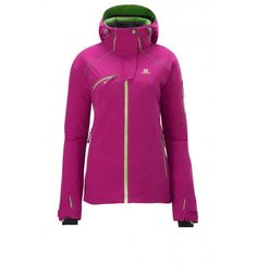 **SALE** A lightweight Salomon! The Speed Jacket from Salomon is not only waterproof and breathable, this technical ski jacket with an active fit, climaPRO Storm ™ membrane and Primaloft ® insulation provides lightweight speed Enthusiastinnen optimal performance. Nothing you is in the way. since 1947 Salomon develop innovative products to enhance the performance of athletes ever. From the outset performance in the foreground - that is our philosophy for the future. Ski Fashion, Spring Fashion, Innovative Products, Sport, Insulation, Athletes, Philosophy, Skiing, Future