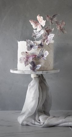 These latest wedding cakes are the latest instragram wedding cake trend from fabulous artist cake designers. Whether concrete wedding cake, aged stone wedding cake,. Wedding Cakes With Flowers, Cool Wedding Cakes, Beautiful Wedding Cakes, Wedding Cake Designs, Beautiful Cakes, Amazing Cakes, Luxury Wedding Cake Design, Wedding Themes, Cupcakes