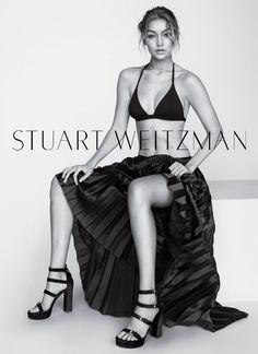 Gigi Hadid stars in Stuart Weitzman's spring-summer 2016 campaign
