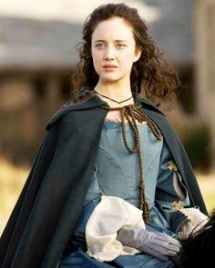 """Andrea Riseborough - """"The Devil's Whore"""" (TV 2008) - Costume designer : Michele Clapton"""