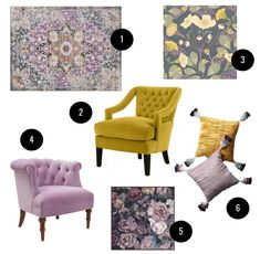 Obsessed With: Lilac & Saffron — Self Styled Self Styled, Lilac, Design, Home Decor, Decoration Home, Room Decor, Syringa Vulgaris, Home Interior Design
